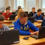 Praktická výuka v učebně CEV